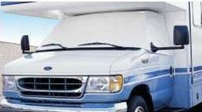 New Dodge Class C RV 1973 - 1997 White Windshield & Side Windows Privacy Cover