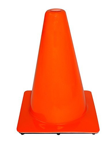3M 90127-00001-20, 12'' Professional Quality Non Reflective Safety Cone, 20-Pack by 3M