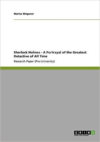 sherlock holmes research paper