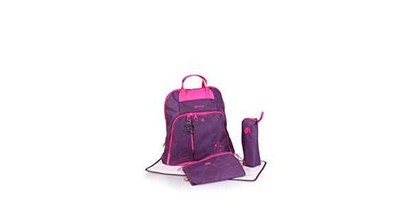 Amazon.com: Okiedog Trek Mochila Bolsa de Pañales, Púrpura: Baby