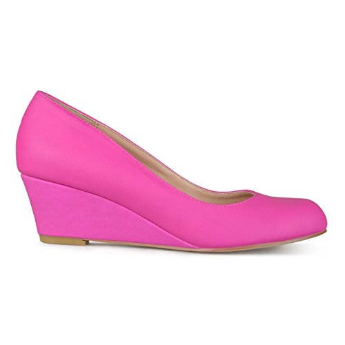 - Brinley Co Women's Dash Pump, hot Pink, 9 Regular US