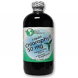2007 Liquid (New 2007 products World Organic Liquid Chlorophyll 50 Mg Mint - 16 Fl Oz)