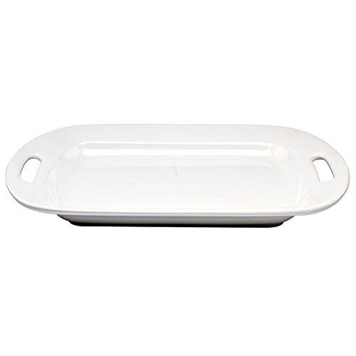 Whiteware Handled Serving Platter 305071243000 , 17¼