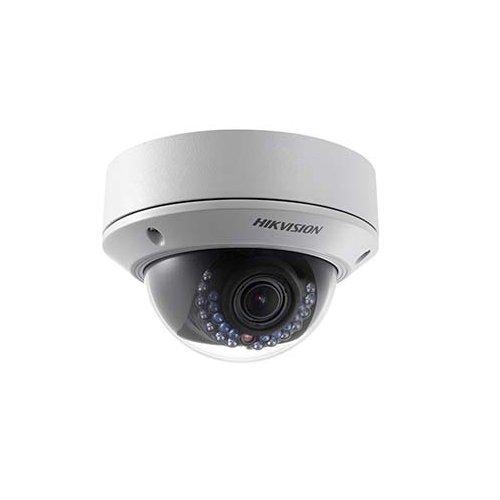 Hikvision 3MP Vandal IR Dome IP Camera: 2.8-12mm, 65 ft Infrared, IP66, PoE, DWDR, Onvif, de-branded, 3yr