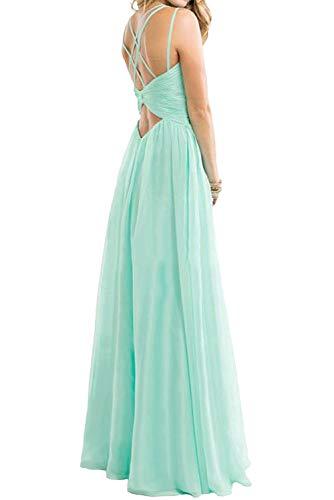Traeger Chiffon mia mit Tanzenkleider Gruen Braut Elegant Abendkleider Partykleider La Sommerkleider Lemon Spaghetti Etuikleider Lang aAwPYwqF
