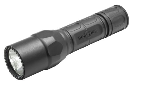 (SureFire G2X Pro Dual-Output LED Flashlight with click switch, Black)