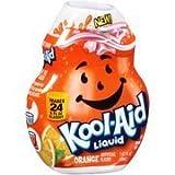Kool-Aid Orange Liquid Drink Mix, 1.62 fl oz(Case of 2) by Kool-Aid