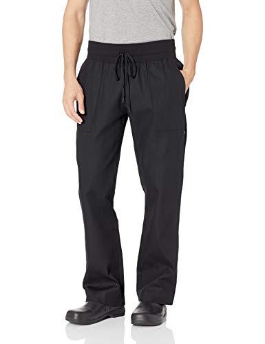 Chef Works Women's Comfi Chef Pants, Black, X-Large -