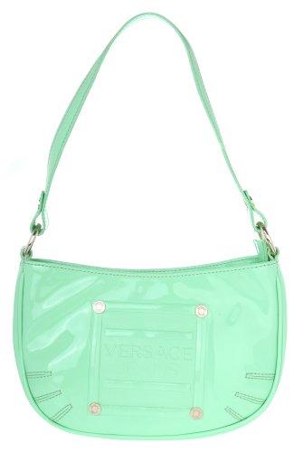 Versace Jeans Women Shoulder Bag Small Hobo bag light grn - Versace Bag Small