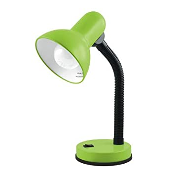 Flexi neck desk table lamp lime green amazon electronics flexi neck desk table lamp lime green mozeypictures Choice Image