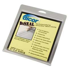 dicor-522af-66-1c-diseal-silver-6-x-6-patch-sealing-tape