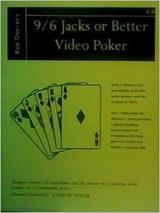 9 6 Jacks Or Better Video Poker Paperback January 1 1996