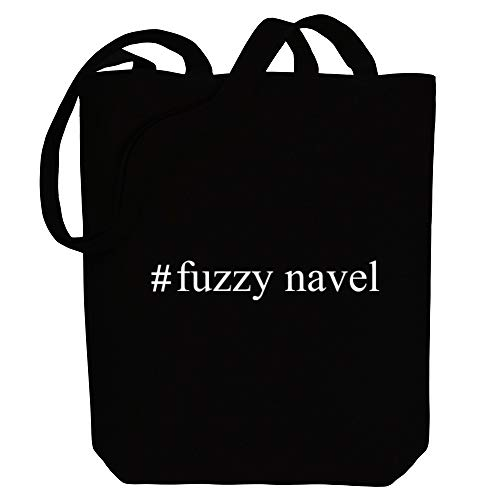 Idakoos - Fuzzy Navel Hashtag - Drinks - Canvas Tote Bag
