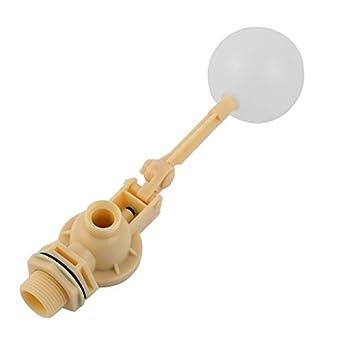 Sensor de nivel eDealMax DN25 líquido del agua de plástico flotante Válvula de bola flotante: Amazon.com: Industrial & Scientific