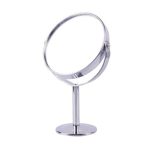 CFHKStore Stand Makeup Doubled Mirror Magnifying Mirror Tiny Shining