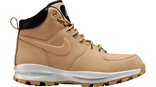 Nike Manoa Leather Mens Hi Top Boots 454350 Sneakers Shoes (UK 10 US 11 EU 45, Haystack Velvet Brown 700)