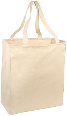 Bolsa de sarga de algodón grande para alimentos: Amazon.es: Hogar