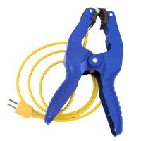 Fieldpiece ATC2 Large Pipe-Clamp Thermocouple 3/8'' to 2 1/4'' for Air Conditioning by Fieldpiece