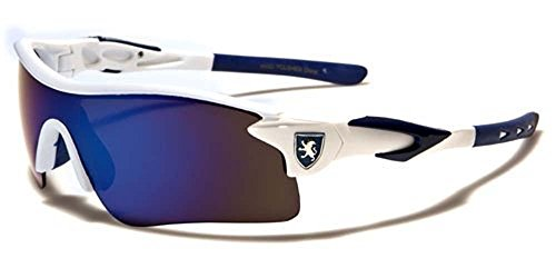 KHAN New Mens Sleek Sports Riding Cycling Sunglasses-Pick Your Color ()