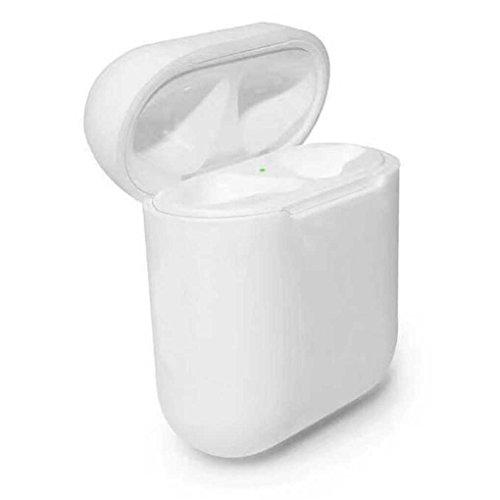 auricolare per silicone Custodia anti iPhone Custodia Bianco AirPods protettiva 7 Bluetooth per auricolare e Mengonee qwzcARIq