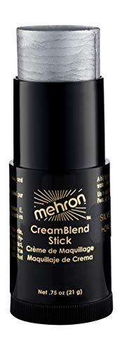 Mehron Makeup CreamBlend Stick (.75 Ounce) (Silver)]()
