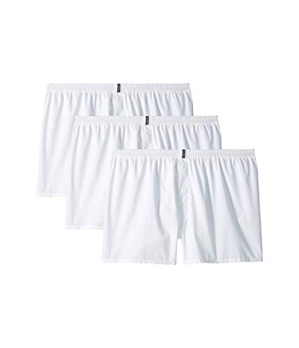 Jockey Men's Underwear Classic Full Cut Boxer - 3 Pack (White, LG (Waist 36-38