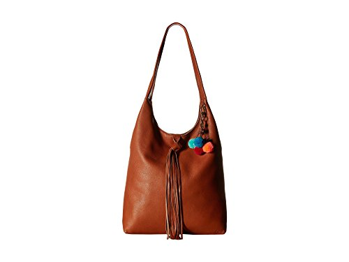 Cognac Leather Handbags - The Sak Women's Pfieffer Bucket Cognac Handbag