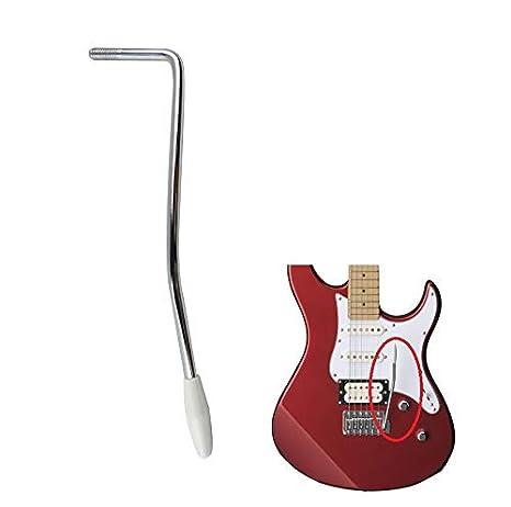 LinaLife - Barra de trémolo para guitarra, 6 mm de diámetro, cromo ...