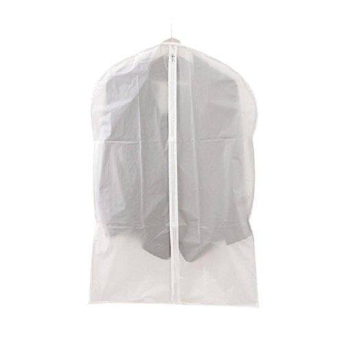SMYTShop Garment Suit Dress Jacket Clothes Coat Dustproof Cover Protector Wardrobe Storage Bag (Small)