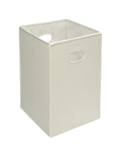 Folding Square Fabric Laundry Hamper or Storage and Toy Bin