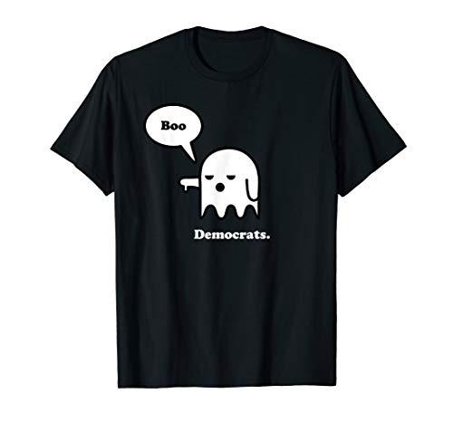 I Hate Democrats, Anti Democrat Tshirts, Halloween Ghost