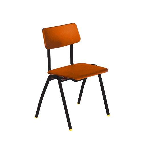 Metalliform bsf-bk-orange standard Classroom sedia con sedile 460mm, arancione