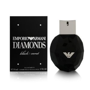 Giorgio Armani Emporio Armani Diamonds Black Carat Eau de Parfum Spray for Women, 1.7 Ounce