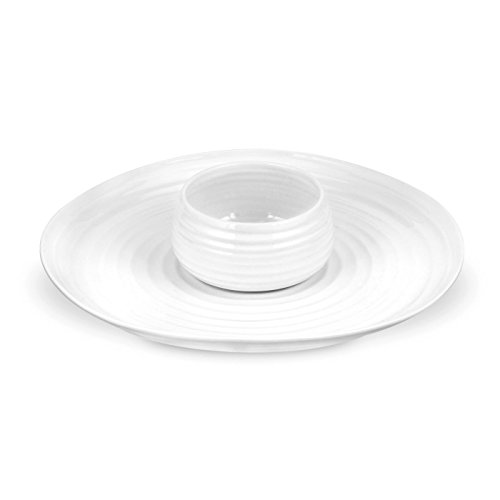 White Chip (Portmeirion Sophie Conran White 2-Piece Chip and Dip)