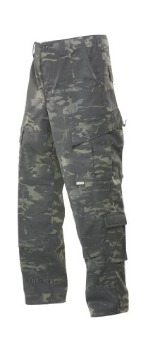 TRU-SPEC Tactical Response Pant, Multicam Black, Medium by Tru-Spec