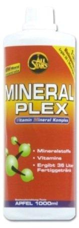 All Stars Mineral Plex Mineraldrink ( 2 x 1 Liter = 2 Liter ), Birne Holunder