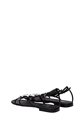 UK Fendi Black Women 8X48171FWF0NRN Sandals pxtT1x