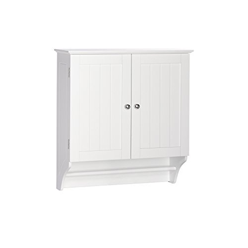 RiverRidge Ashland Collection Two-Door Wall Cabinet, White
