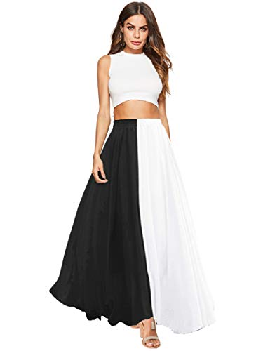 Top 10 best pleated skirt color block for 2019