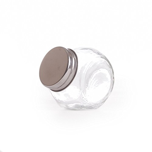 Jars Custom Candy (Dress My Cupcake Dress My Cupcake DMC93347 12-Pack Mini Glass Candy Jars)