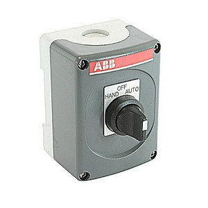 ABB P1-HOA Enclosure, For Use With Control Panels, Plastic, Dark and Light (Abb Control)