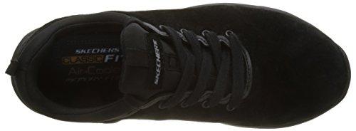 Hombre Larson Entrenamiento Negro para de Skechers raxton Black Zapatillas dYxq6fwa