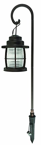 Malibu Lightning 8422-4110-01 Harbor Collection LED Low Voltage Jelly Jar Pathway Light- Black