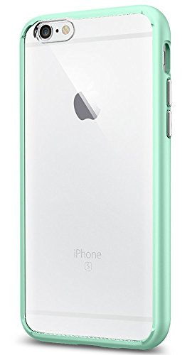 (Spigen Ultra Hybrid iPhone 6S Case with Air Cushion Technology and Hybrid Drop Protection for iPhone 6S / iPhone 6 - Mint)