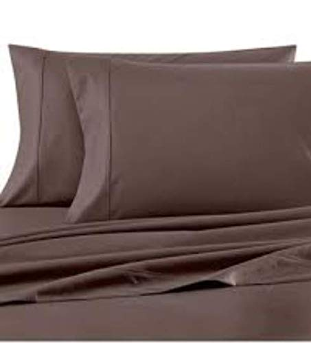 Wamsutta 620 Thread Count 100% Egyptian Cotton Full Sheet Set in Charcoal