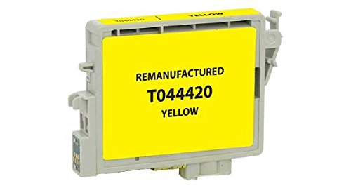 Yellow Ink T044420 (Epson Remanufactured Yellow Ink Cartridge for Epson T044420)