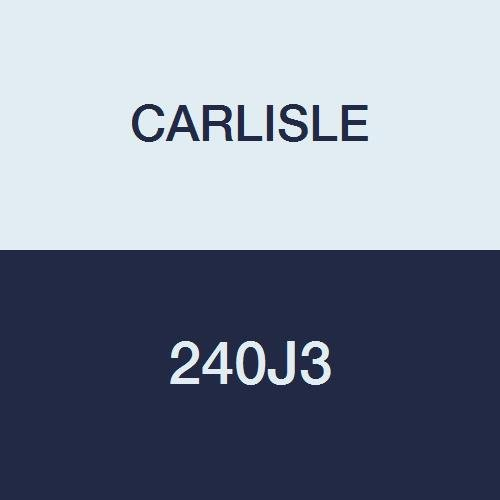 Carlisle High Performance Belt (CARLISLE 240J3 V-Ribbed Belts with 3 Ribs, J Section, Rubber, 0.276 Belt Width, 24.5