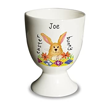 Easter bunny eggcup special easter gift eggcup personalised easter bunny eggcup special easter gift eggcup personalised unique negle Images