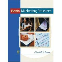 Basic Marketing Research 6th edition (9780324305418 ...