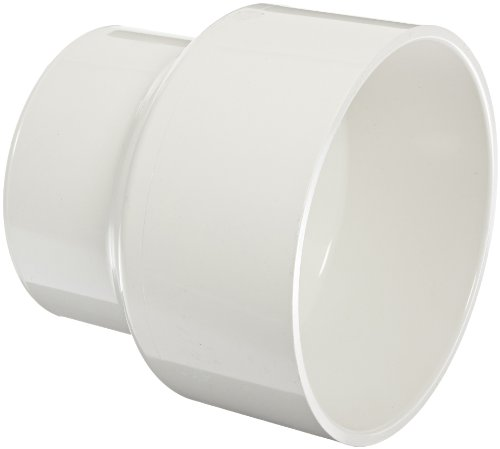 Pipe Astm Pvc - Spears P102 Series PVC DWV Pipe Fitting, Reducing Coupling, 8